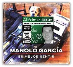 Entrevista a Manolo García en Al Primer Toque, Onda Cero 26/3