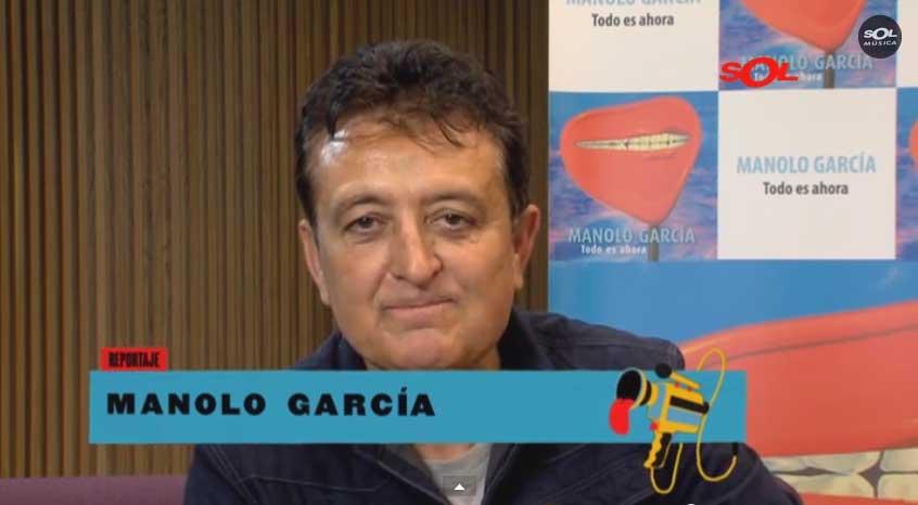 Manolo García en Sol Música viernes 30/1/15