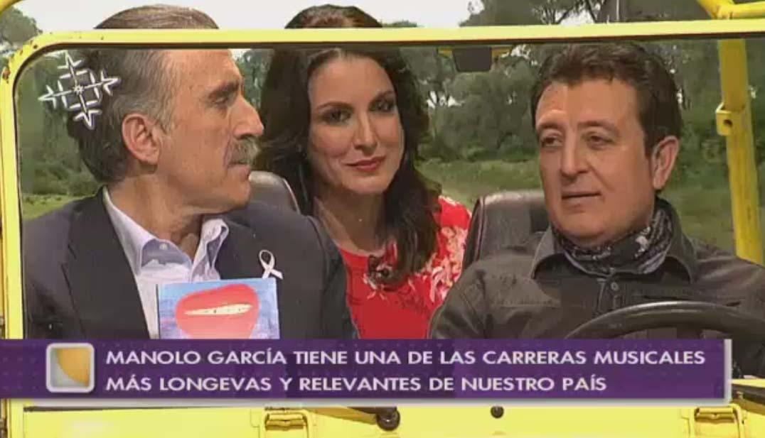 Manolo García en La Tarde, aquí y ahora. Canal Sur TV. 4/2/2015