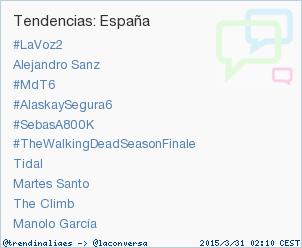 Manolo García, trending topic en Twitter, por 'No me compares' junto a Alejandro Sanz
