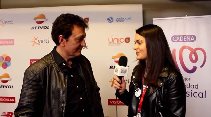 Entrevista a Manolo García en La Noche de Cadena 100, por LaCajadeMusica.org