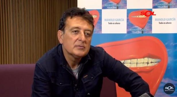 Video Entrevista a Manolo García en Sol Música, 30/1/2015