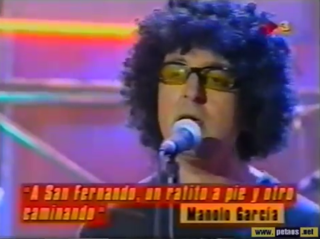 Manolo García, A San Fernando (semiAcustico) en directo en La Cosa Nostra 1998