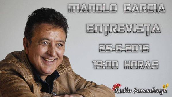 Entrevista a Manolo García en Radio Sarandonga