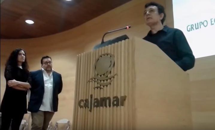 Manolo García en los Premios Duna 15 de Grupo Ecologista Mediterráneo