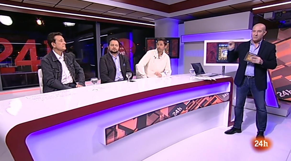 Manolo García en Secuencias en 24h (RTVE)