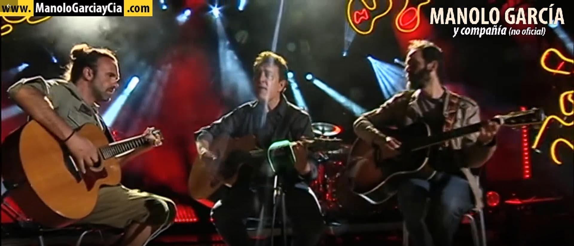 Vídeo Entrevista a Manolo García en Canal Sur, Noticias 19/4/2018
