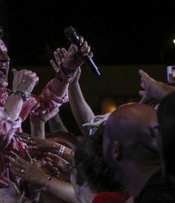Manolo García y su público, en una sola voz en Málaga
