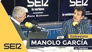 Manolo García en La Ventana (Ser) Entrevista y Acústico 23/10/2018