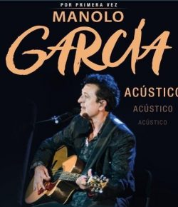 Manolo García anuncia nuevo concierto en Teruel