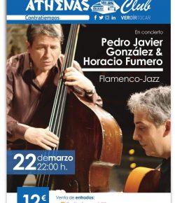 Pedro Javier Gonzalez y Horacio Fumero en concierto en Cartagena 22/3