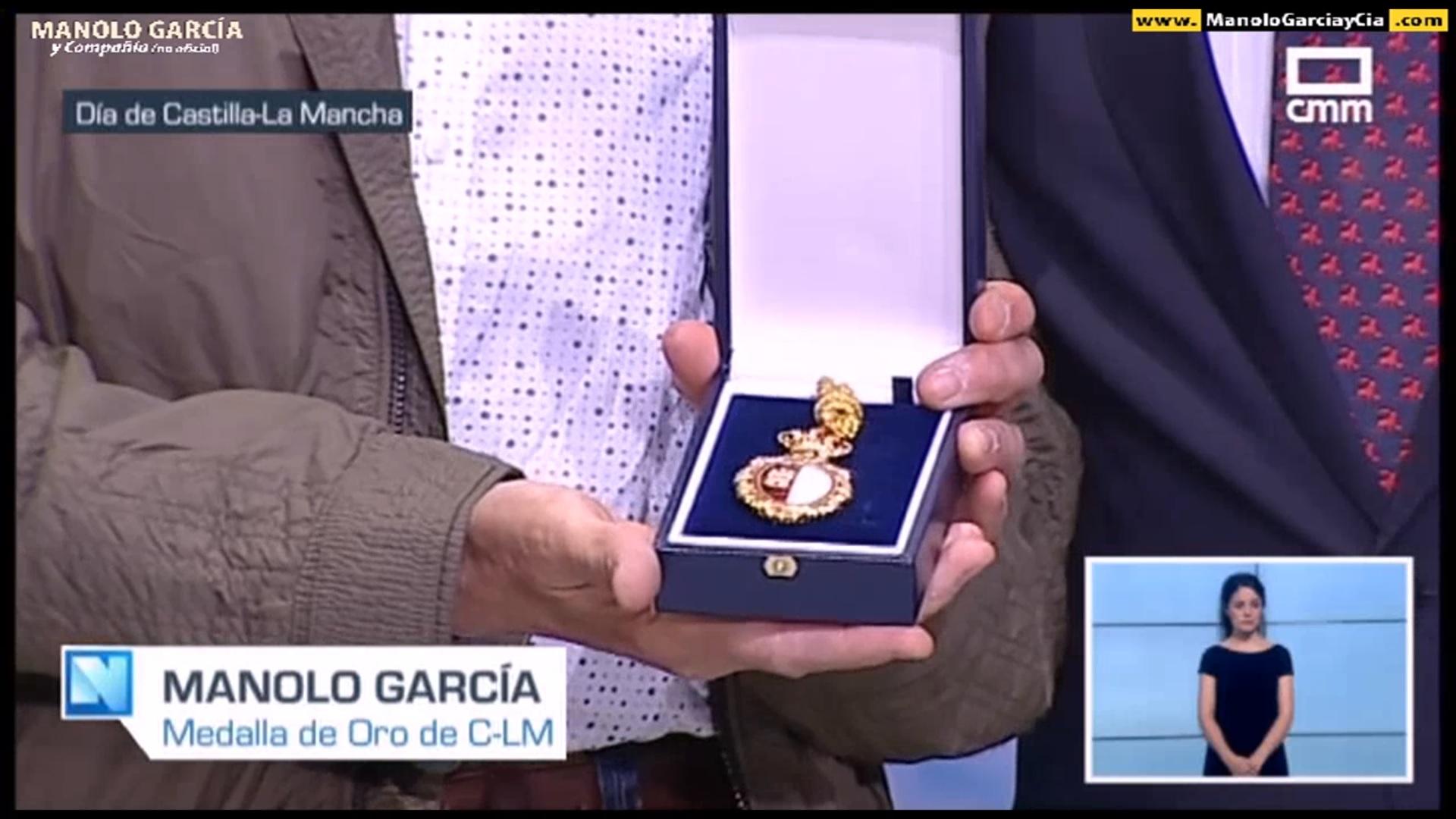 Manolo García recibe la Medalla de Oro de Castilla La Mancha