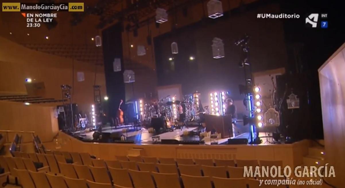 Especial Unidad Movil (Aragon TV) a raíz del aniversario del Auditorio de Zaragoza.