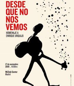 Manolo García, Rozalén y Coque Malla se unen al homenaje a Enrique Urquijo en el WiZink Center de Madrid
