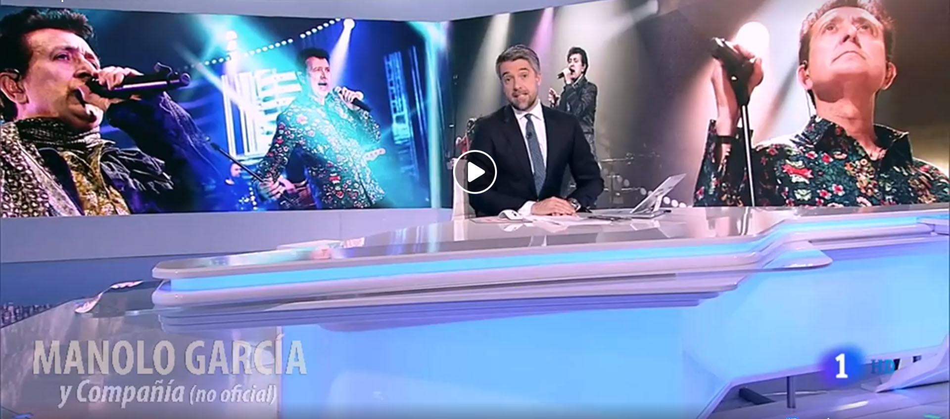 Manolo García en el Telediario2 de RTVE 20/11