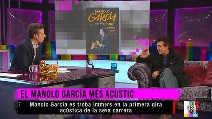 Manolo García: «Per actuar en acústic has d'estar més concentrat, però té un punt màgic molt bonic» (Català)