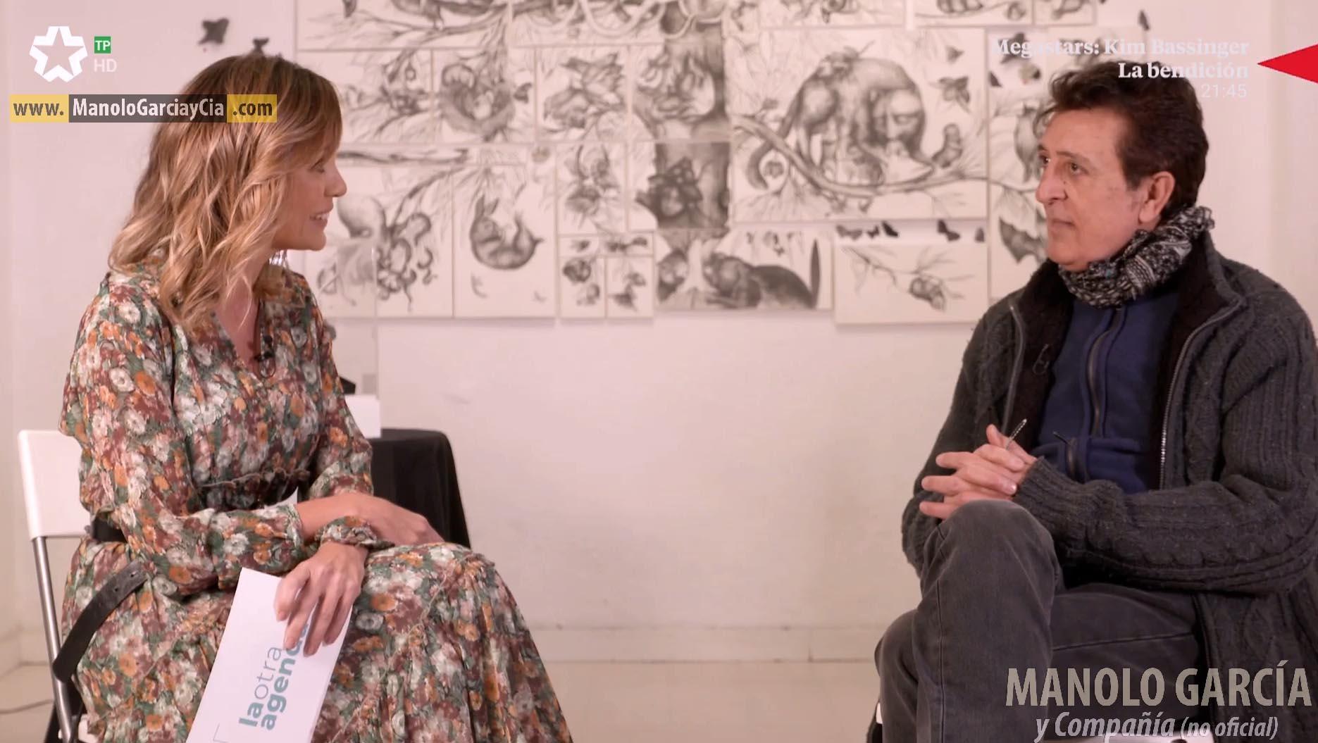 Manolo García, entrevista en LA OTRA AGENDA 7/12/19