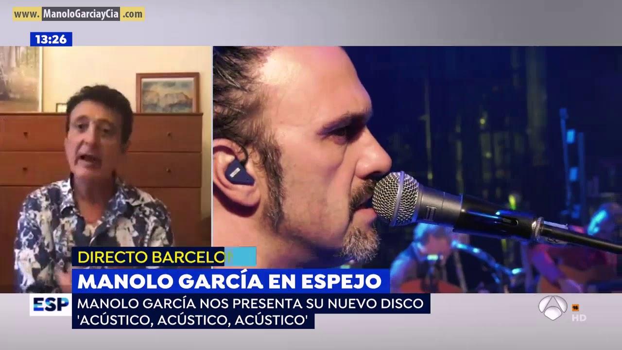 Manolo García en Espejo Publico, Antena 3