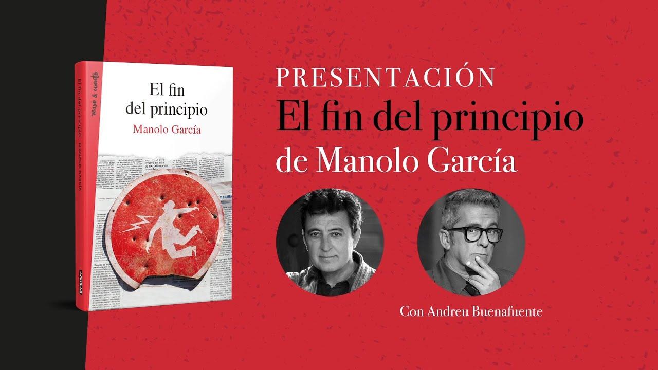 Presentación El Fin del Principio, Manolo García con Andreu Buenafuente